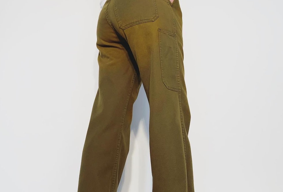 New Work Pant UK Grey Gold