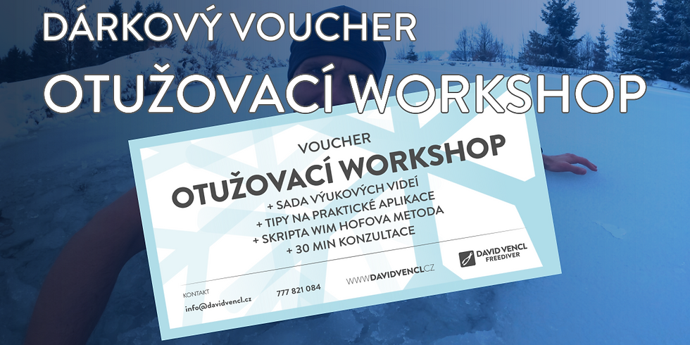 Voucher - otužovací workshop