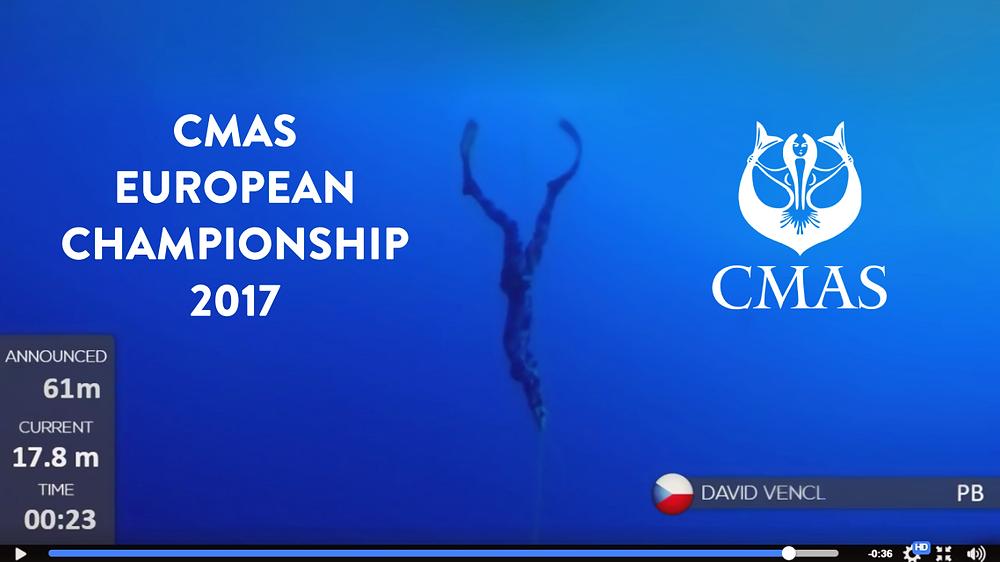 CMAS EUROPEAN CHAMPIONSHIP 2017