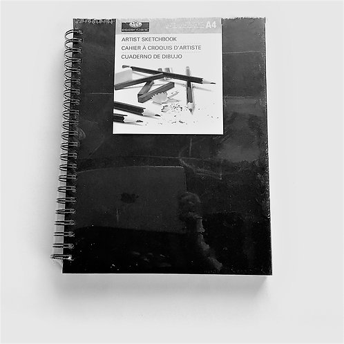 Artist Sketchbook – Black