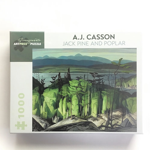 Puzzle, Jack Pine and Poplar – A. J. Casson