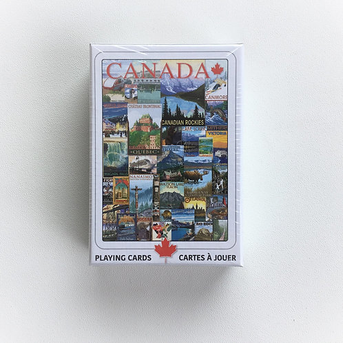 Playing Cards, C.P. Travel Canada