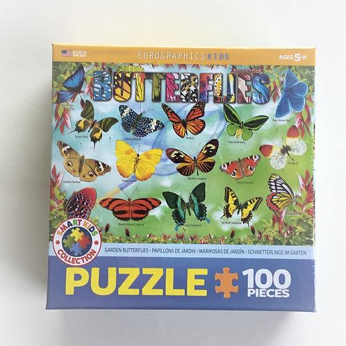 Puzzle, Garden Butterflies