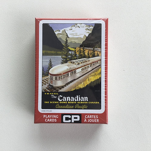 Playing Cards, C.P. Scenic Dome Route