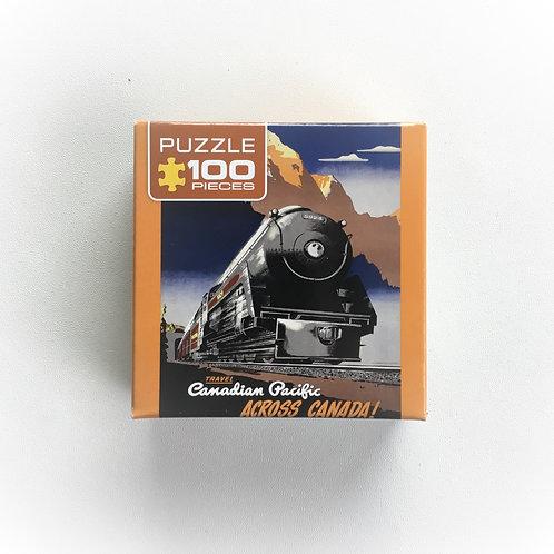 Puzzle, C.P. Across Canada