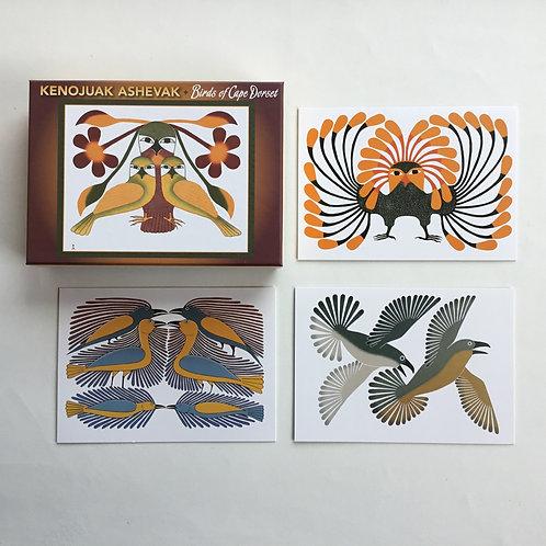 Notecards, Kenojuak Ashevak, Birds of Cape Dorset
