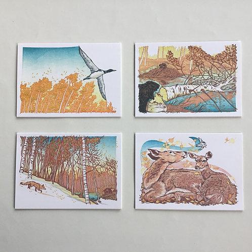 Notecards, Nick Wroblewski, Hush Hush, Forest