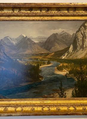 Albert Bierstadt in the Canadian Rockies
