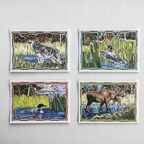 Notecards, Kenspeckle Letterpress,Wildlife