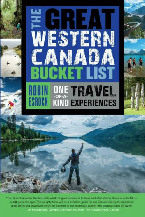 Guidebook, The Great Western Canada Bucket List