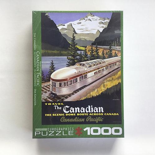 Puzzle, C.P. The Scenic Route Across Canada