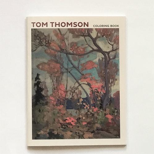 Colouring Book, Tom Thomson