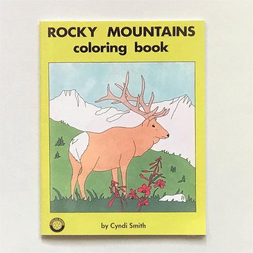 Colouring Book, Rocky Mountains