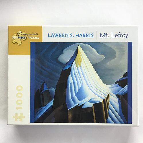 Puzzle, Mt. Lefroy – Lawren Harris