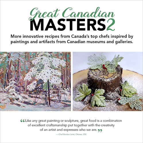 Cookbook, Great Canadian Masters 2