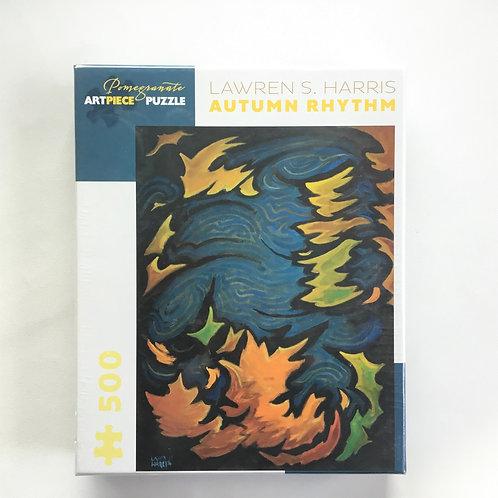 Puzzle, Autumn Rhythm – Lawren Harris