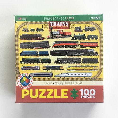 Puzzle, Trains Trains Trains