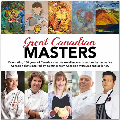 Cookbook, Great Canadian Masters