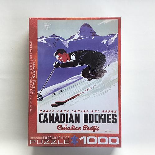 Puzzle, C.P. Banff – Lake Louise Ski Area