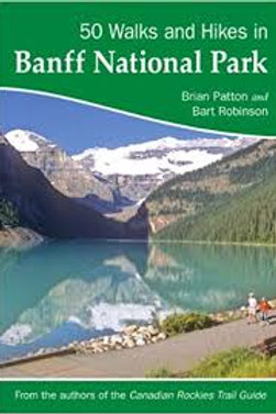 Guidebook, 50 Walks and Hikes in Banff National Park