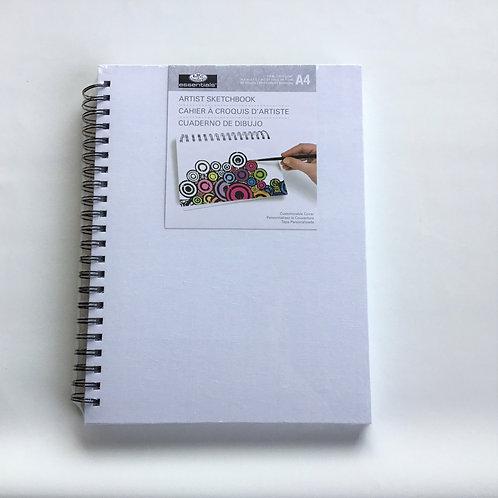 Artist Sketchbook – White