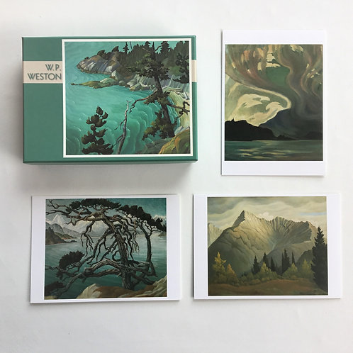 Notecards, W.P. Weston, Vancouver Art Gallery