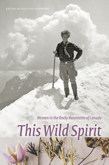 Book,The Wild Spirit: Women in the Rocky Mountains of Canada