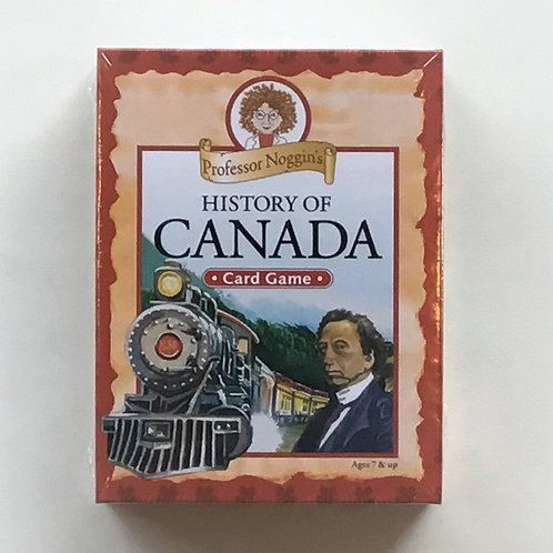 History of Canada – Professor Noggin's Card Game