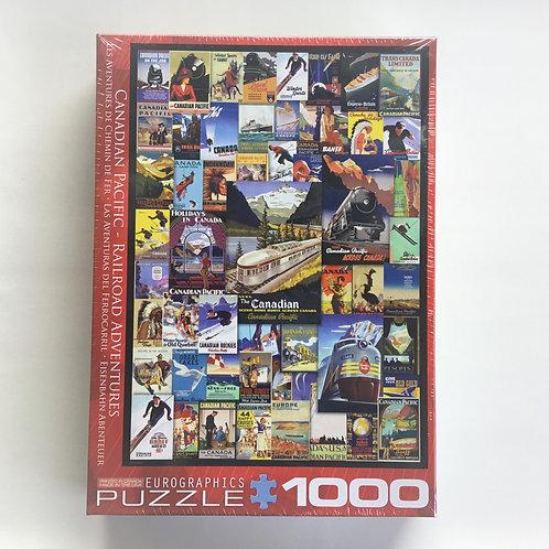 Puzzle, C.P. Railroad Adventures