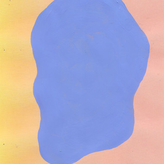 Gradient color study 011, acrylic on paper, dimensions variable, 2020