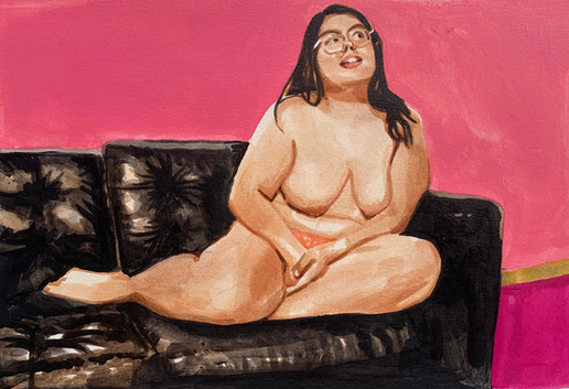 Woman on Couch No.1