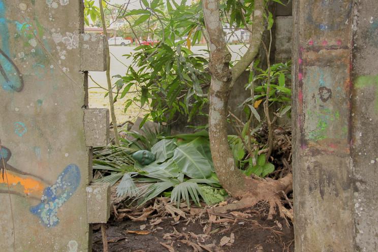 Hidden in plain sight (Chromium Oxide Green)