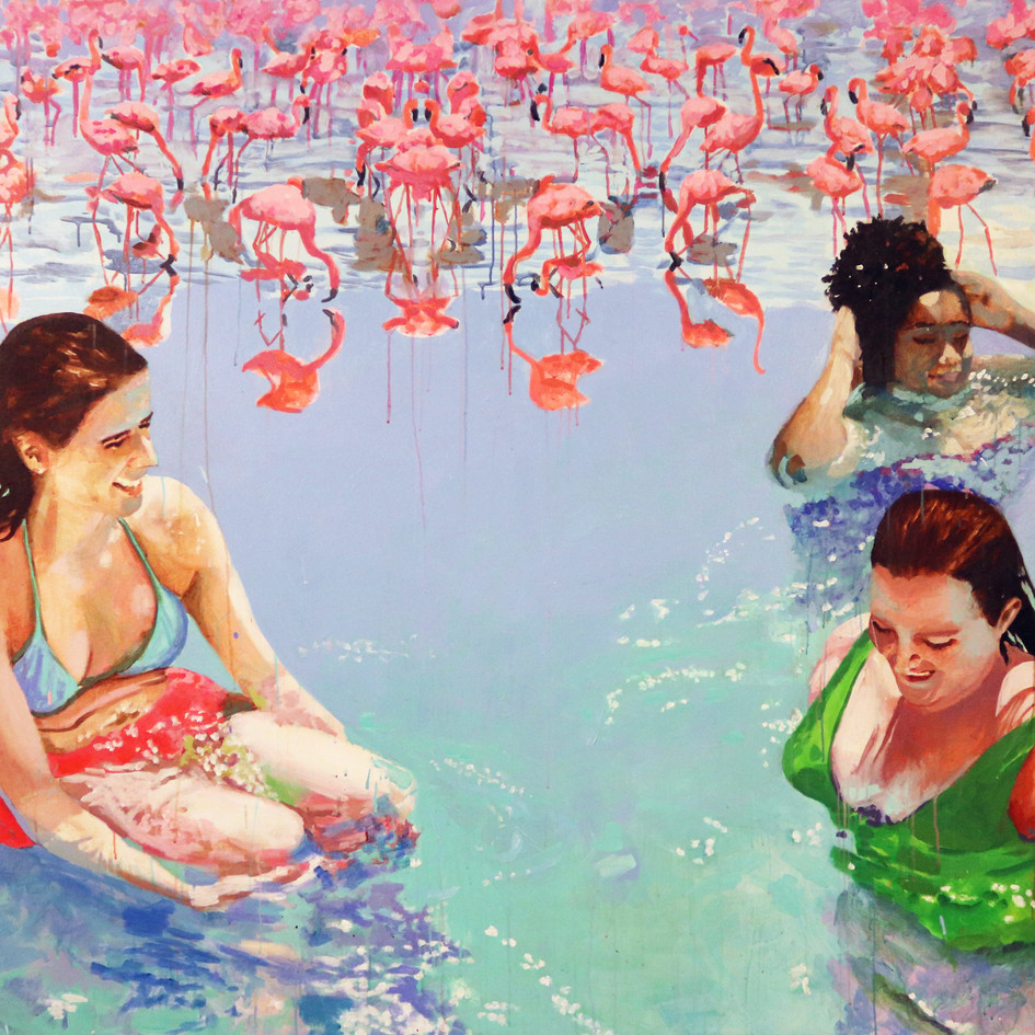 Pool Painting No. 4