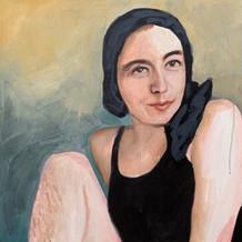 """Natalie, acrylic on canvas, 36"""" x 24"""", 2020"""