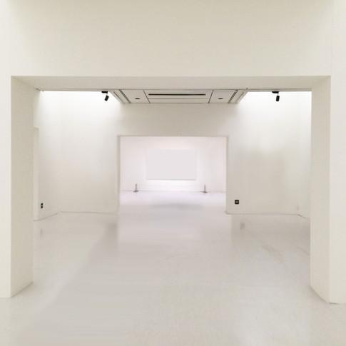 Espace d'exposition vide