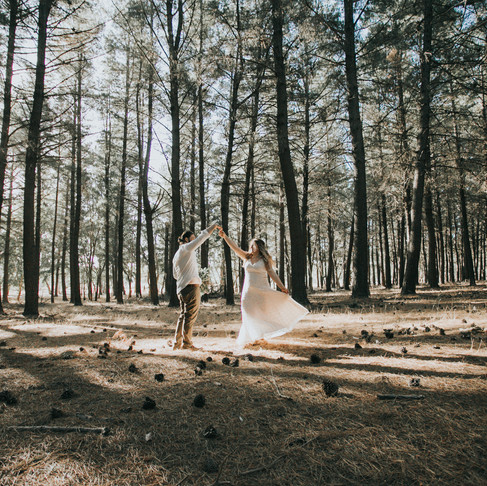 Magical Burbrook Forest Wedding