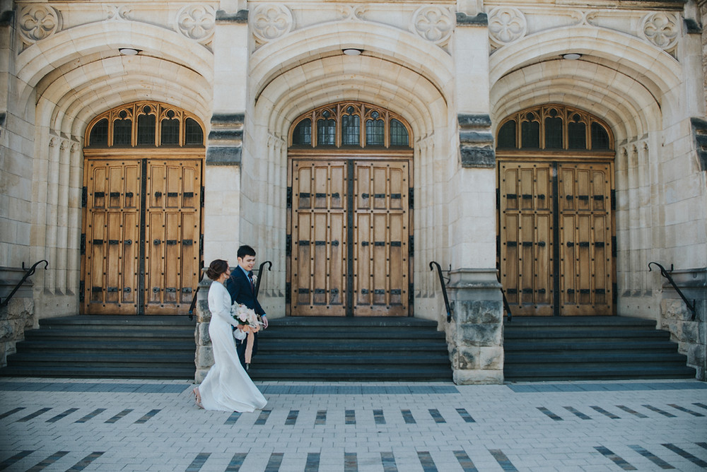 Classic Wedding Photo at Bonython Hall