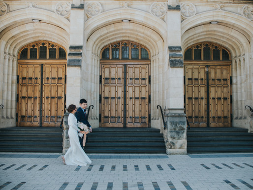 Rad & Arianne, Registry Wedding and City to Lush Pictorial, Adelaide Arcade