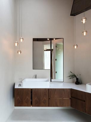 suspension salle de bain verre saint tro