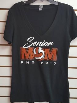 Custom Senior Mom Shirt