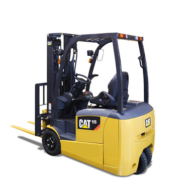 Cat 3-Wheel Electric Forklift EP15TCB