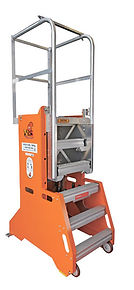 Genielift, genie lift, duct, air conditioner, duct lift