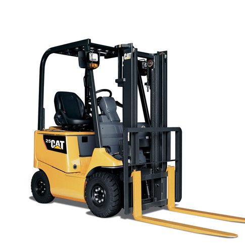 Cat 4-Wheel Electric Forklift