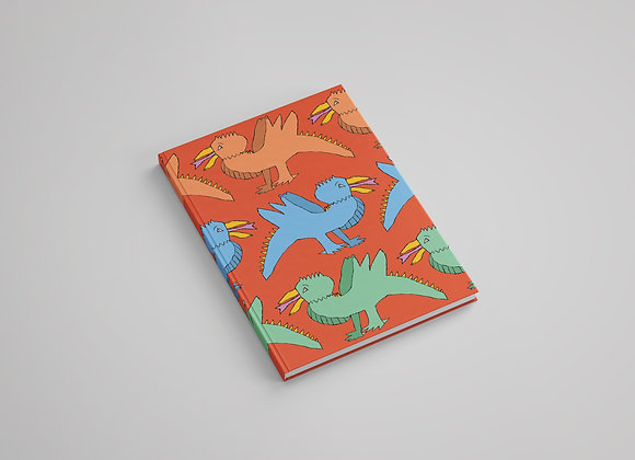 Spine Bird Notebook