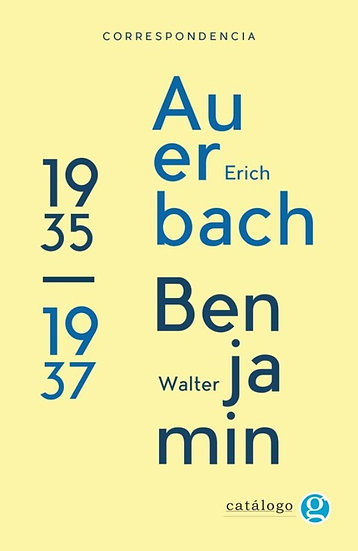 CORRESPONDENCIA WALTER BENJAMIN - EIRC AUERBACH
