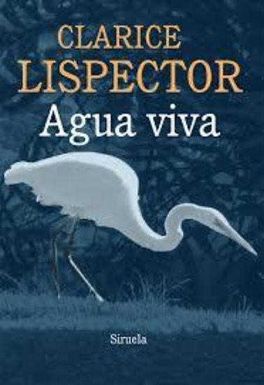 AGUA VIVA. LISPECTOR, CLARICE