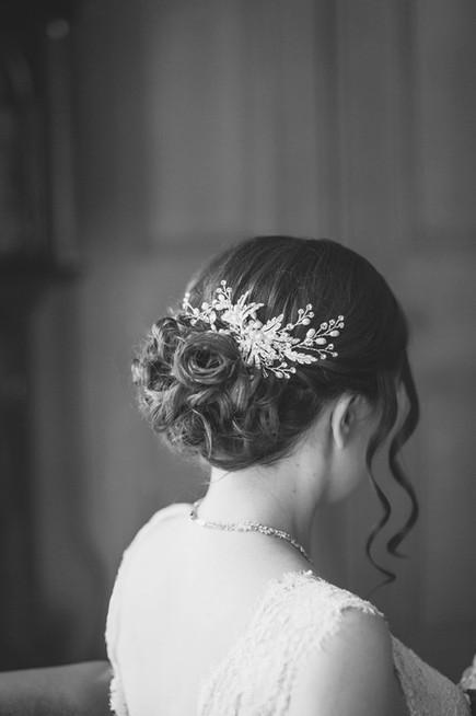 Photographer - Claire Cox Bride - Elizabeth  MUA & Hair Stylist - Suzanne Christie Location - Surgeons' Hall