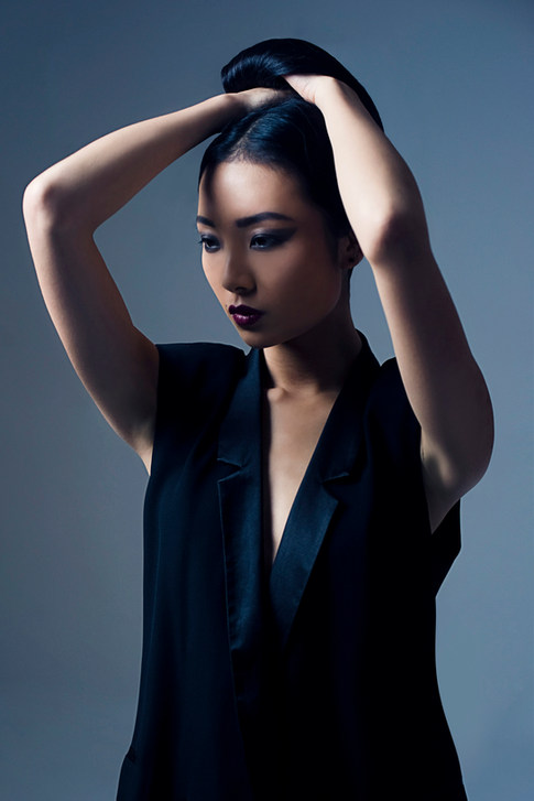 Photography - Hannah Houston   MUA & Hair Stylist - Suzanne Christie Model - Ivy Eliane Ruolin