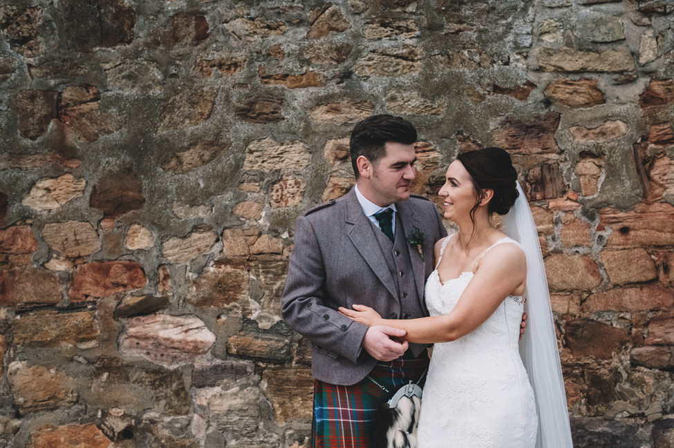 Photographer - Harper Scott  Bride and groom - Sam and Ger MUA - Suzanne Christie Location - The Cow Shed