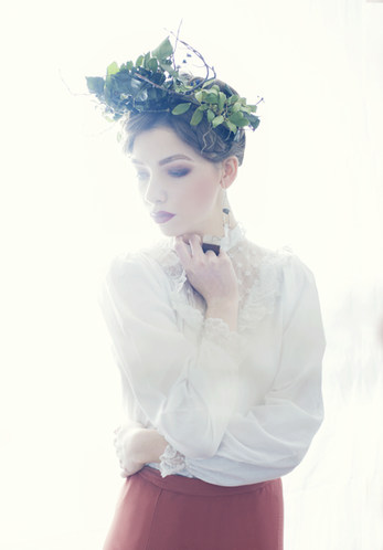 Photographer - Hannah Houston MUA & Hair Stylist - Suzanne Christie Model - Zoe Gilchrist